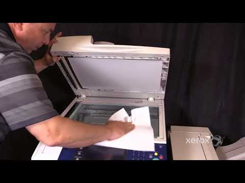 Xerox® WorkCentre® 5335 Family Cleaning the Platen Glass and CVT