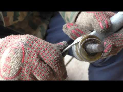 замена пыльника рулевого наконечника ВАЗ-1113 ОКА