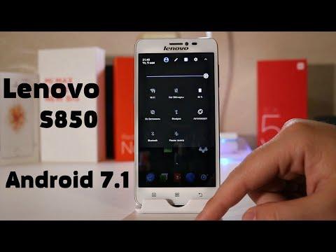 Установка Android 7.1 на Lenovo S850 🔥ОГОНЬ ПРОШИВКА