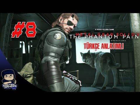 Metal Gear Solid V : Phantom Pain Türkçe Bölüm 8 : GERÇEK ELMAS !!!