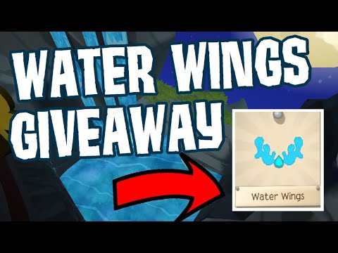 WATER WINGS GIVEAWAY | AJPW