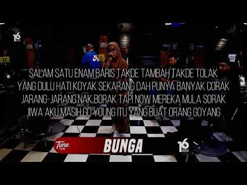 BUNGA | 16BARIS | LIRIK VIDEO