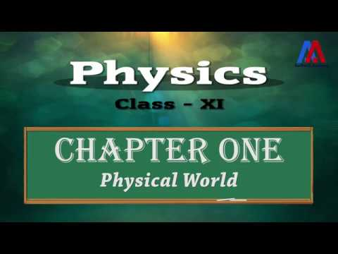 Physics Class XI | Chapter-1 | Physical World (Hindi)