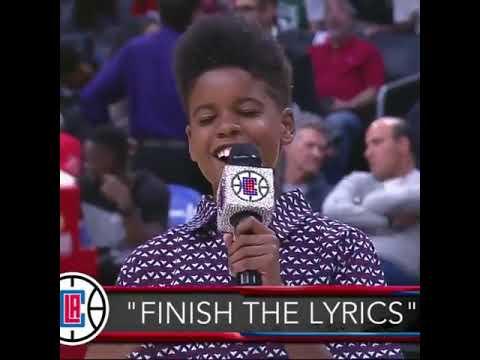 Little boy finish song lyrics incredible