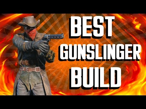 Fallout 4 Builds - The Gunslinger - Best Pistols Build