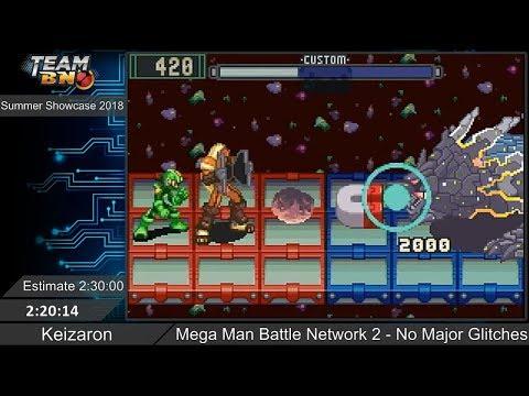 Mega Man Battle Network 2 - Speedrun by Keizaron ~ Summer Showcase 2018