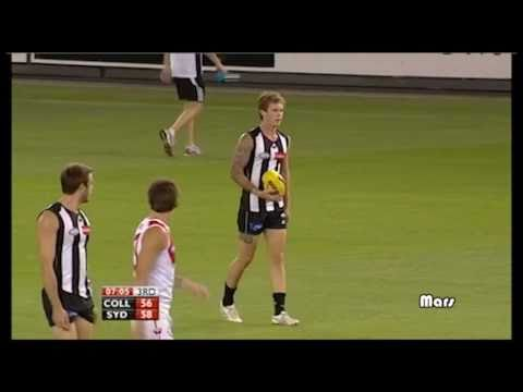 Dayne Beams kicks a supergoal