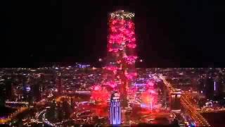 AR Rahman Music Played at Dubai 2014 New Year's Eve Fireworks