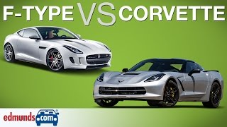 Chevrolet Corvette vs Jaguar F-Type | Which Sports Car Wins?
