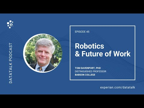 Artificial Intelligence & The Future of Work w/ Tom Davenport @tdav #DataTalk