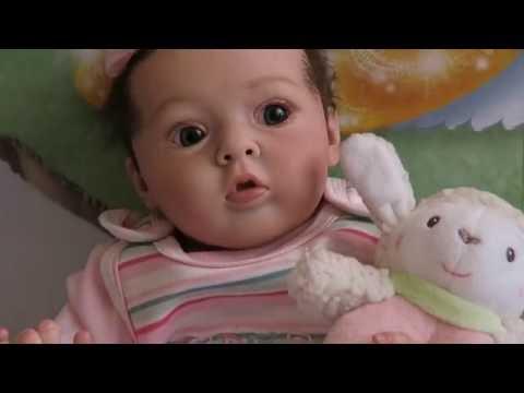 Распаковка куклы реборн Reborn baby Box Opening