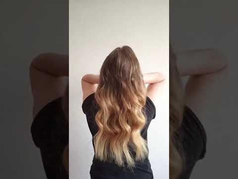 Наращивание волос в Санкт-Петербурге. Итальянское горячее (капсульное) микро-капсульное.