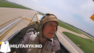 Retired Navy pilot feels the rush of flying again | Militarykind