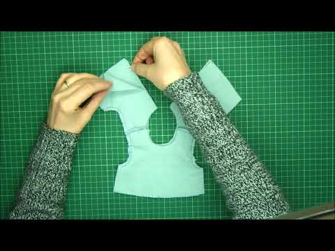Rag Doll Outfit Making  - Pinafore And Bonnet Part 2  - The Pinafore Top  - Alice's Bear Shop