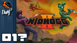 Let's Play Nidhogg 2 - PC Gameplay Part 1? - Hop For Your Life!