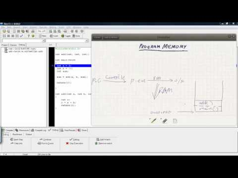 Program memory allocation in C - text segment