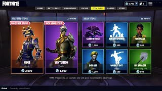 SAMURAI AND HERO SKINS ARE BACK IN FORTNITE ITEM SHOP