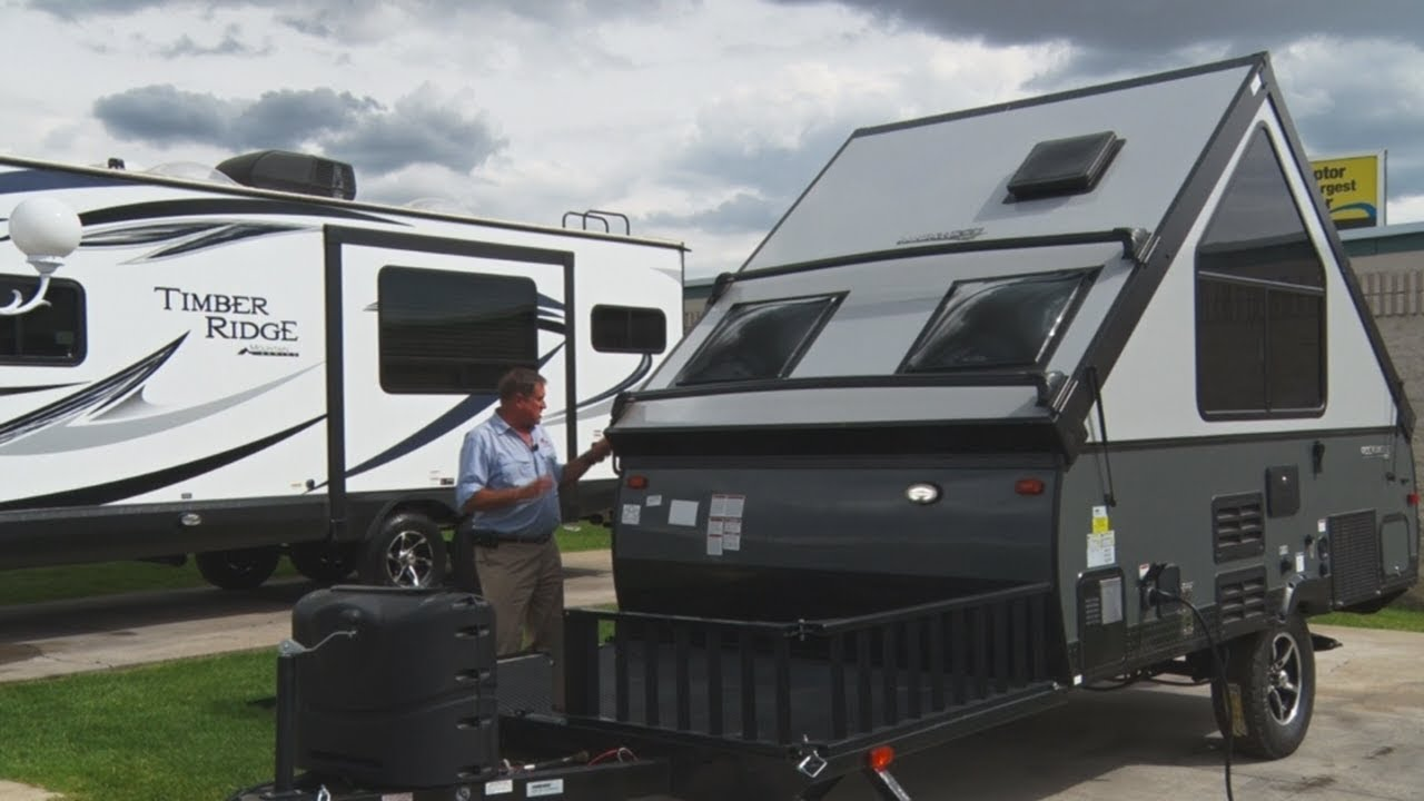 Rockwood A Frame 12 Foot Trailer Review Youtube