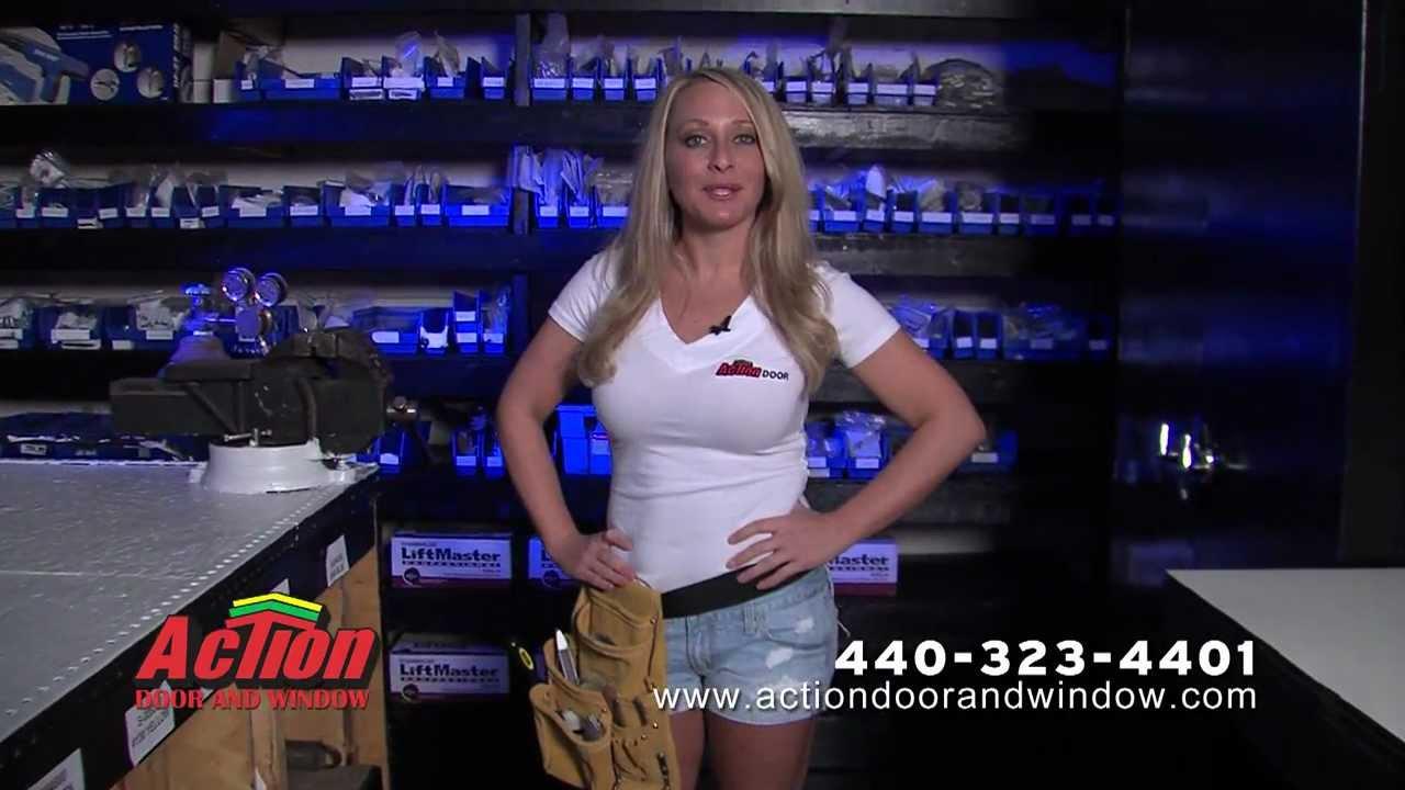 sc 1 st  YouTube & Action Door and Window Garage Spring Repair - YouTube pezcame.com