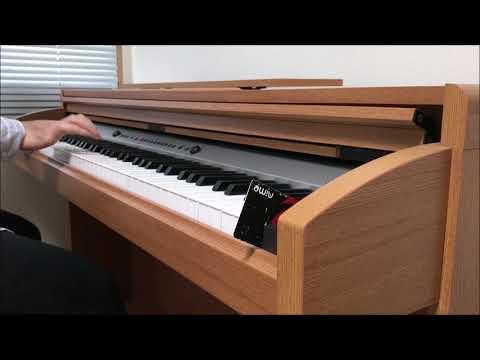 【頭文字d-zero】crazy-hot-/-njk-record-piano-cover-イニシャルd-bgm-ピアノで弾いてみた-東方project-コラボ-霧雨魔理沙-initial-d-ost