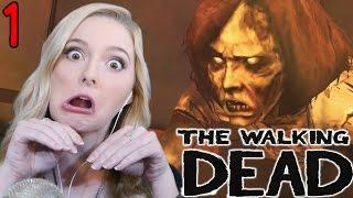 MEET CLEMENTINE- The Walking Dead Telltale Gameplay Walkthrough- Ep 1, Pt 1