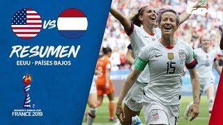 RESUMEN | Estados Unidos 2-0 Países Bajos