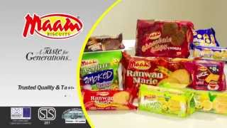 TV Commercial - 30 Seconds Confectionery MAAM Biscuits distributed ...
