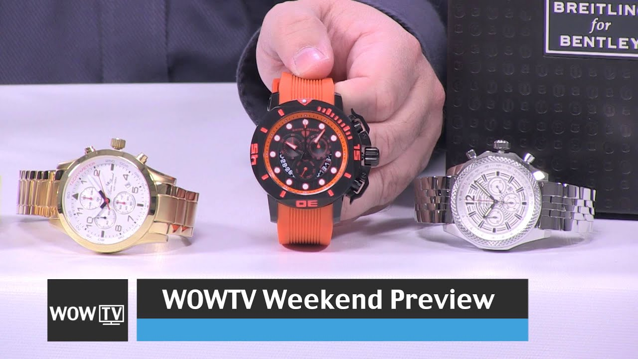 world of watches tv preview weekend show december 13th