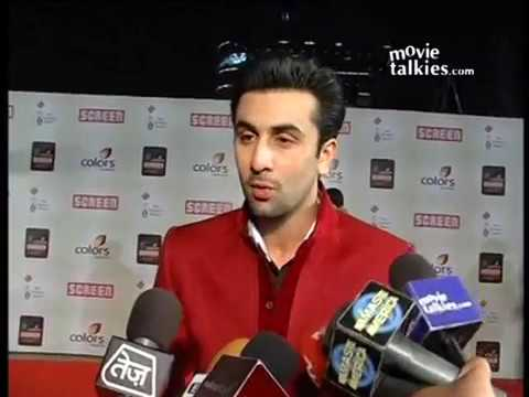Ranbir Kapoor at the 18th Annual Colors Screen Awards 2012 Red Carpet