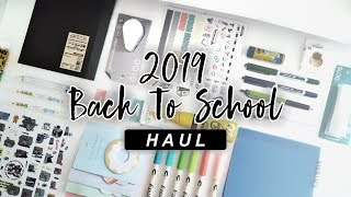Huge Back to School Haul! | Peralatan sekolah, Binder, Buku, dan Review Produk!