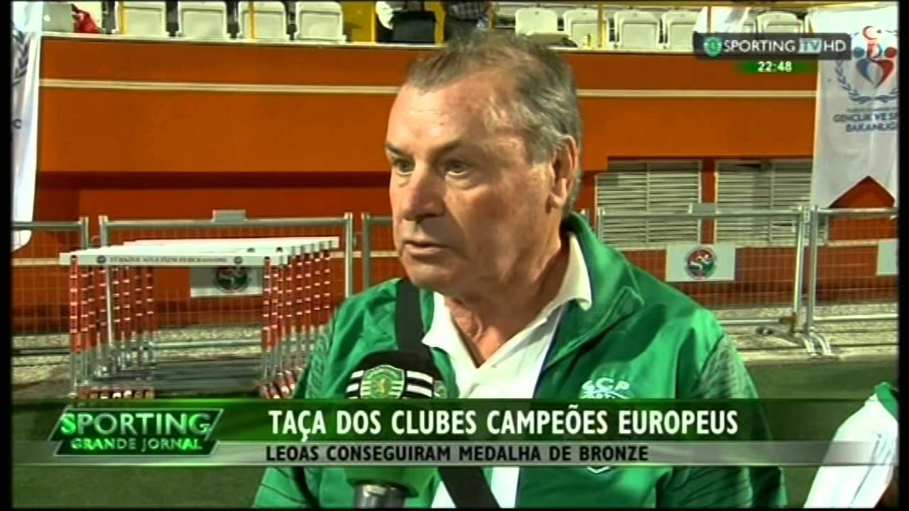 Atletismo :: Sporting medalha de bronze na Taça dos Clubes Campeões Europeus em pista (femininos) 31/05/2015