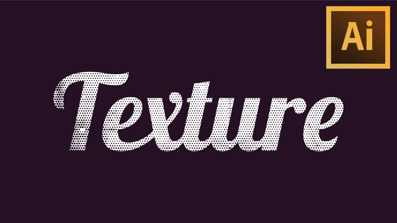 How To Apply Textures To Text Illustrator CC Bangla Tutorial - YouTube