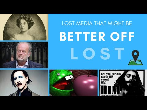Lost Media That Might Be Better Off Lost