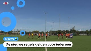 Hoe bevallen de nieuwe voetbalregels?
