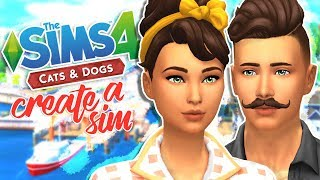 THE SIMS 4 CATS & DOGS | CREATE-A-SIM ITEMS // FIRST IMPRESSIONS