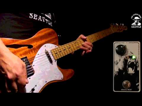 Electric Heat APE BLASTER FUZZ demo for the Seattle Guitar Store