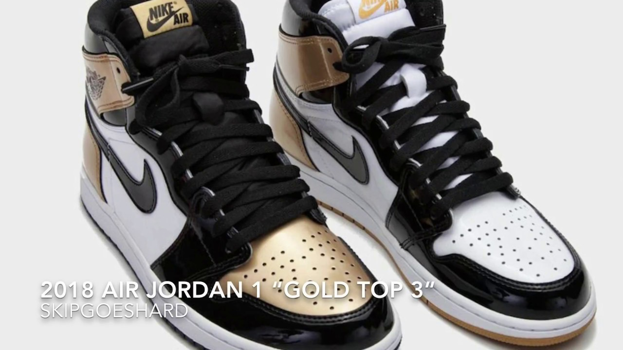 "30040aa312b 2018 AIR JORDAN 1 ""GOLD TOP 3"" RELEASE DATE IS CANCELLED?!?! - YouTube"