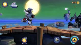 Bumblebee is in the dark side? (Angry birds transformers part 21)