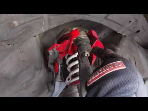How to install brembo brakes on 04-08 Acura TL base!