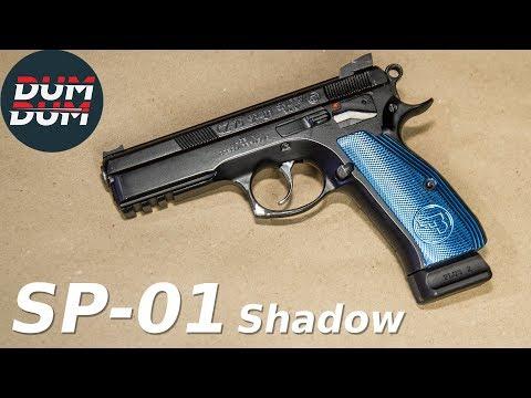 CZ 75 SP-01 Shadow opis pištolja (gun review, eng subs)