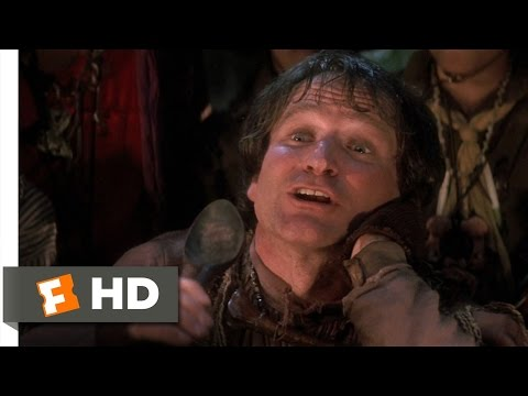 Hook (2/8) Movie CLIP - Insults at Dinner (1991) HD