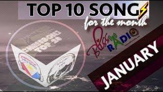 Top 10 Songs (January 2018)