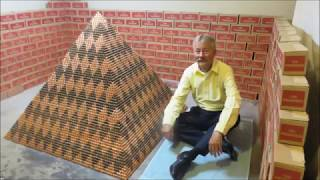 World Record Penny Pyramid - 1,030,315 pennies Guinness World Record