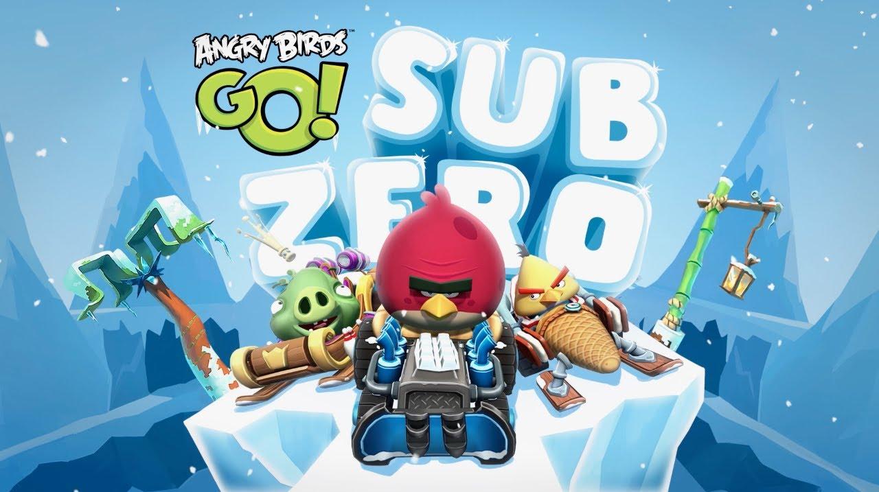 Angry Birds GO! Sub Zero Episode Trailer - YouTube