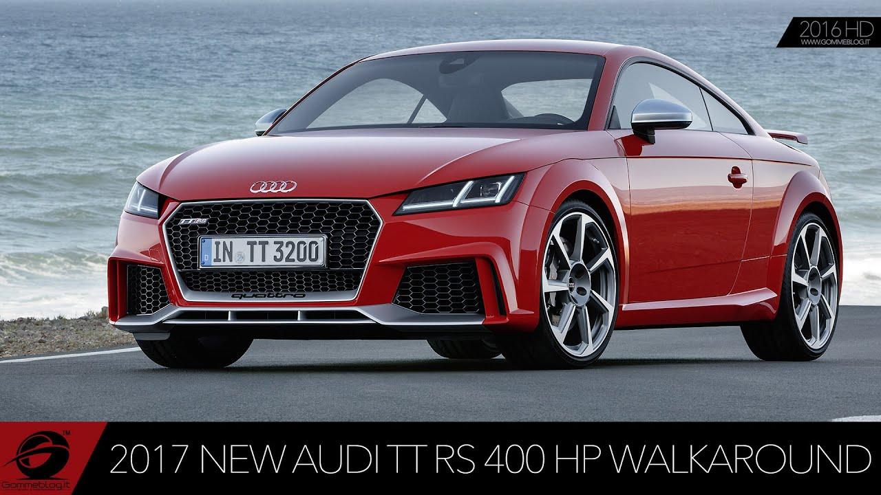 NEW Audi TT RS WALKAROUND Exterior Interior Design YouTube - New audi tt