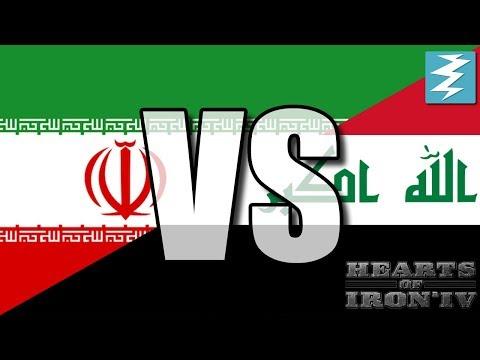 Iran Vs Iraq Ep1 - Hearts of Iron 4 (HOI4)