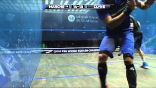 Squash : MegaRallies EP88 - Marche v Clyne : World Championship 2014