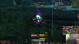 world of warcraft new class gnome priest 57 lvl up dungeons-quests ...!!!