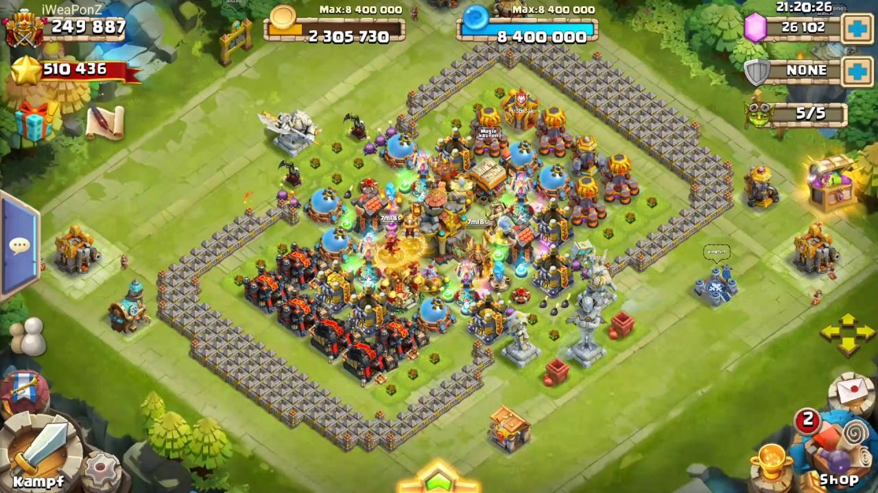 Castle Clash Anubis