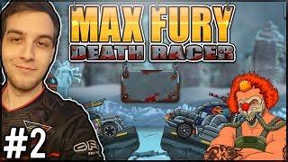 CZY DZISIAJ TEŻ BĘDZIE TAK CIĘŻKO?! - Max Fury Death Racer #2